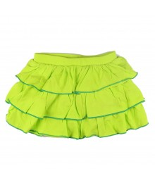 Oshkosh Ruffled Jersey Skort Lemon