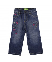Old Navy Doodle Emb Girls Jeans Baby Girl