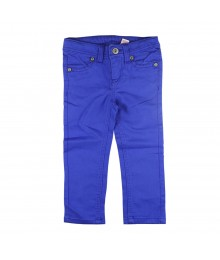 Sonoma Girls Dazzling Blue Colored Jeans Little Girl