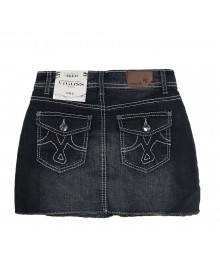 Vigoss Denim Skirts Wt Embr