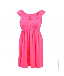 Zunie Neon Pink Knit Dress