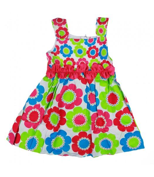 Rare Too Fush/Green/Turq Sun Dress