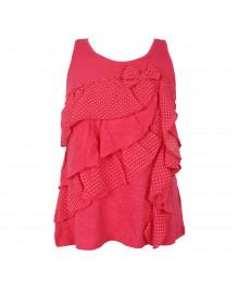 Jessica Simpson Pink Ruffle Girls Cami