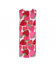 Crazy 8 Straeberry Print Pique Dress