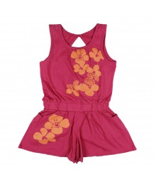 Crazy 8 Pink Sleeveless Romper