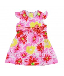 Rare Editions Pink Floral Dress