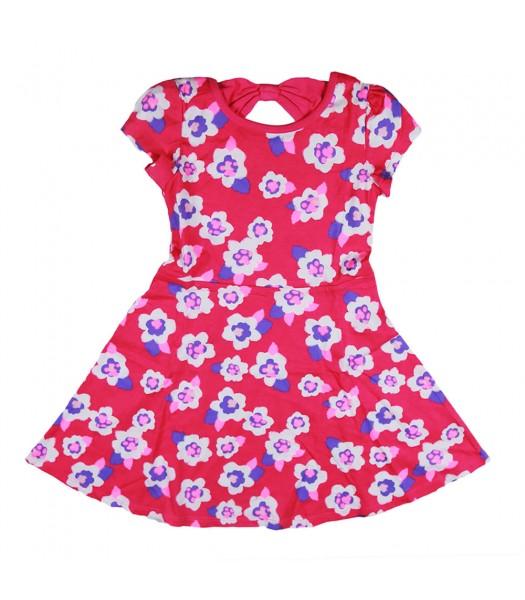 Jumping Beans Pink Flowers Skater Dress