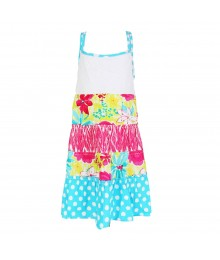 Youngland Multi Tiered Crochet Dress