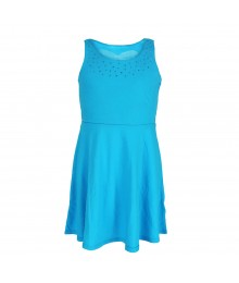 S0 Turq Heart Cutout Skater Dress