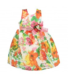 Jayne Copeland Floral  Sleevelss Dress