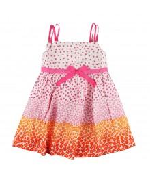 Blueberi Pink/Orange Floral Boulevard Sundress