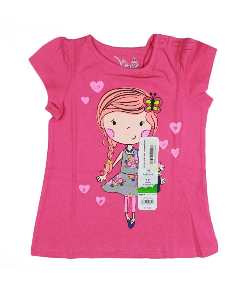 e65fb325 Jumping Beans Pink Girls Tee Wt Girl Print. ₦4,250.00 NGN