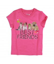 Childrens Place Pink Girls Tee