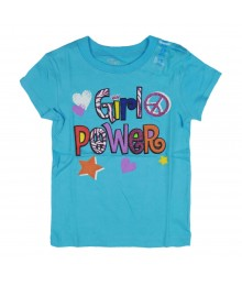 Childrens Place Turquoise Girls Tee - Girls Power