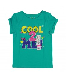Jumping Beans Green Girls Tee - 2 Cool 2 B Me