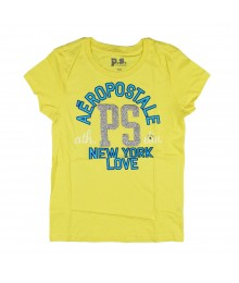 Aeropostale Light Yellow Girls Tee