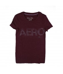 "Aeropostale Purple ""Aero"" Top Big Girl"