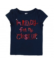 "Crazy8 Navy ""Im Ready For My Close Up"" Tee"