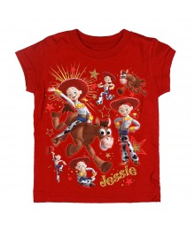 Disney Red Jessie Graphic Girls Tee