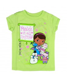 Disney Lime  Doc Mcstuffins Graphic Girls Tee