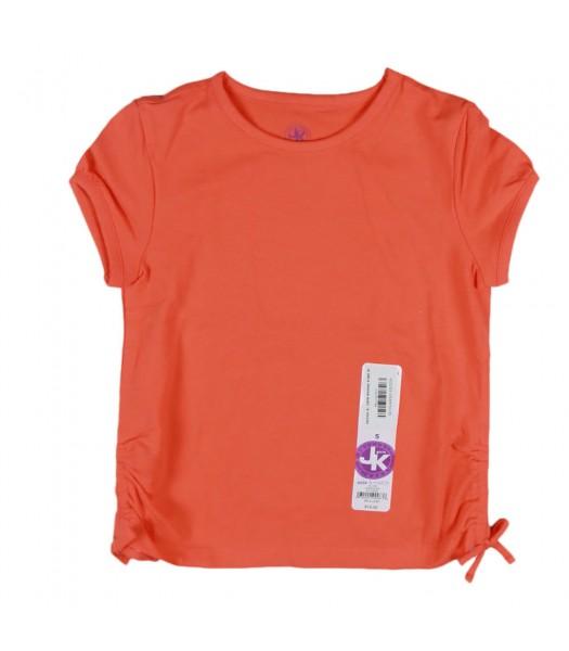 Jk Girls Orange Basic Tee