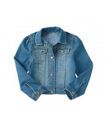Crazy 8 Blue Denim L/Sleeve Jacket