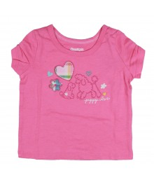Oshkosh Pink Puppy Love Tee