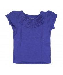 Arizona Girls Rosette Top -Purple