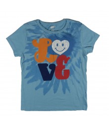Crazy 8 Love Tee - Blue
