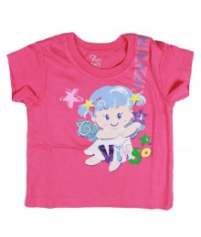 Childrens Place Pink Virgo Graphic Tee Baby Girl