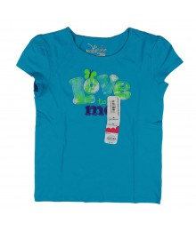 Jumping Beans Turq Butterfly Girls Tee