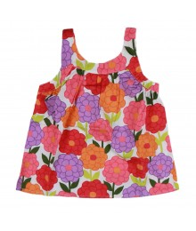 Gymboree Orange Blossom Swing Girls Top Little Girl