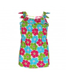 Gymboree Bow Ruffle Flower Top