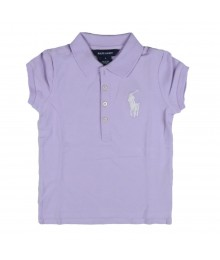 Liane Stretch Big Pony Polo - Lilac