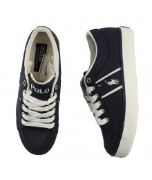 Polo Navy Bollingbrook Boys Lace Sneakers