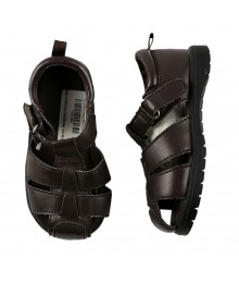 Crazy 8 Brown Fisherman Boys Sandal