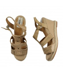 Nurture Mackenna Nude Wedge Sandals