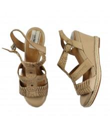 Nurture Mackenna Nude Wedge Sandals