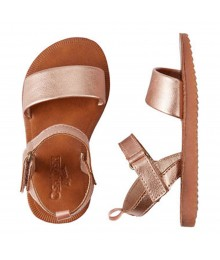 Oshkosh Rose Gold Strappy Sandal