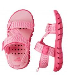 Oshkosh Pink Trekkers Girls  Strappy Sandals