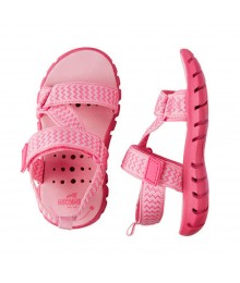 Oshkosh Pink Trekkers Girls Strappy Sandals