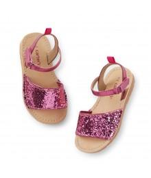 Carters Pink Glitter Girls Sandals