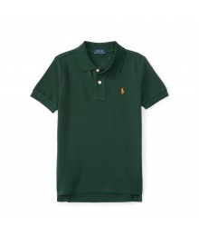 polo green small pony polo shirt Little Boy
