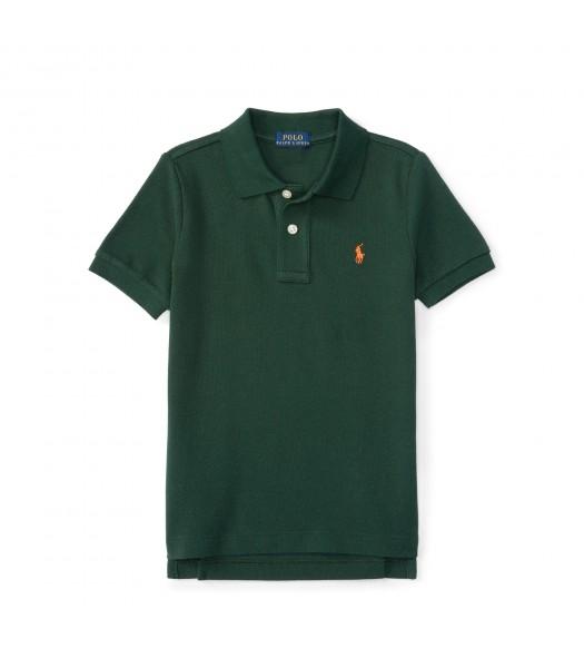 polo green small pony polo shirt Little Boy