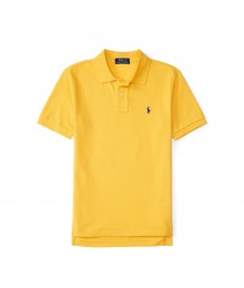 polo yellow small pony polo shirt