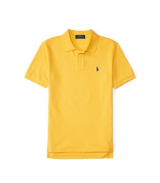 polo yellow small pony polo shirt