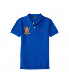 polo blue small pony/ big pony  polo shirt Little Boy
